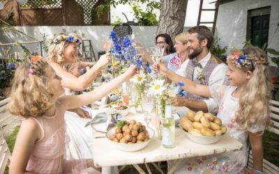 Inspirationsshooting: Midsommar Hochzeit in Oppenheim bei Mainz